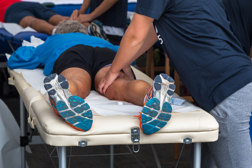 Athletic Injuries and Recovery with Massage