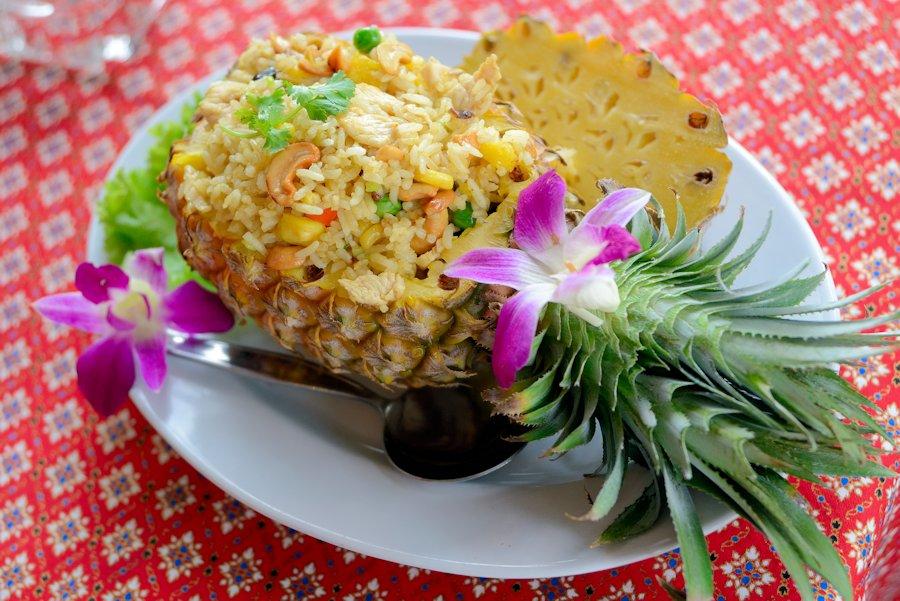 Seasonal Recipe: Pineapple Fried Rice